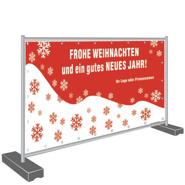 Banner Frohe Weihnachten