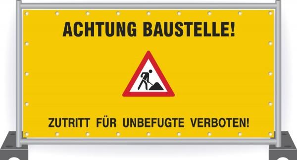Baustellenbanner-Achtung-Baustelle-mit-Sicherheitszeichen